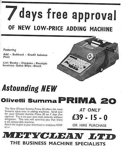 büro computer olivetti p 203