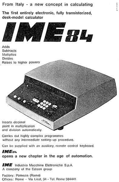 Old Calculator Advertisements