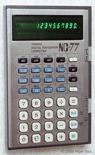 a four function calculator