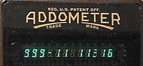 Feet & inches display