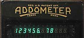 Metric display