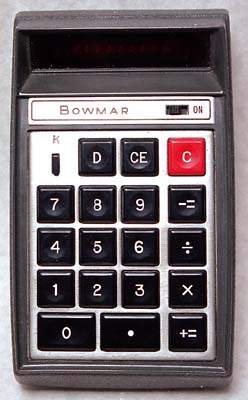bowmar calculators bowmar 901b