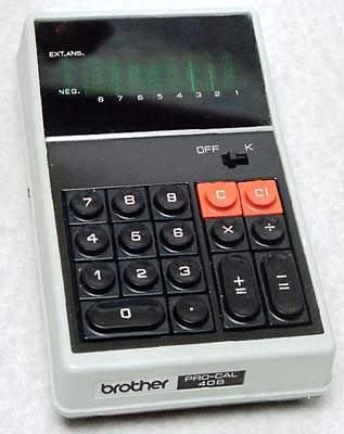 Brother  PRO-CAL 408