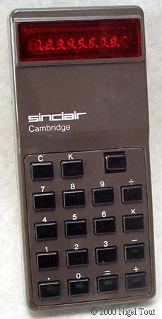 Sinclair Cambridge type 1
