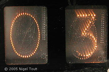 """light-pipe"" display module"