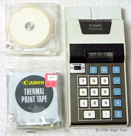 Canon Pocketronic