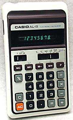 Calculator driver casio