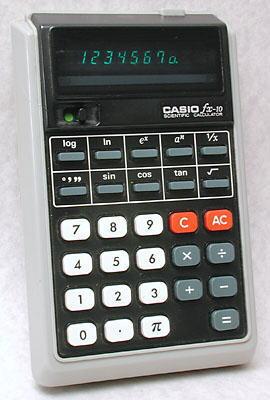 Casio fx-10