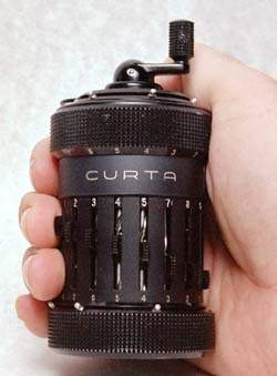 Curta in the hand