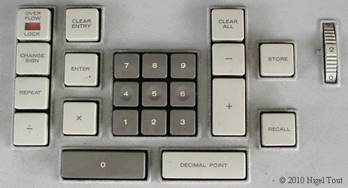 Friden EC130 keyboard
