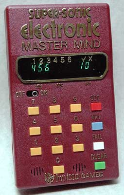 Super-Sonic Electronic Master Mind