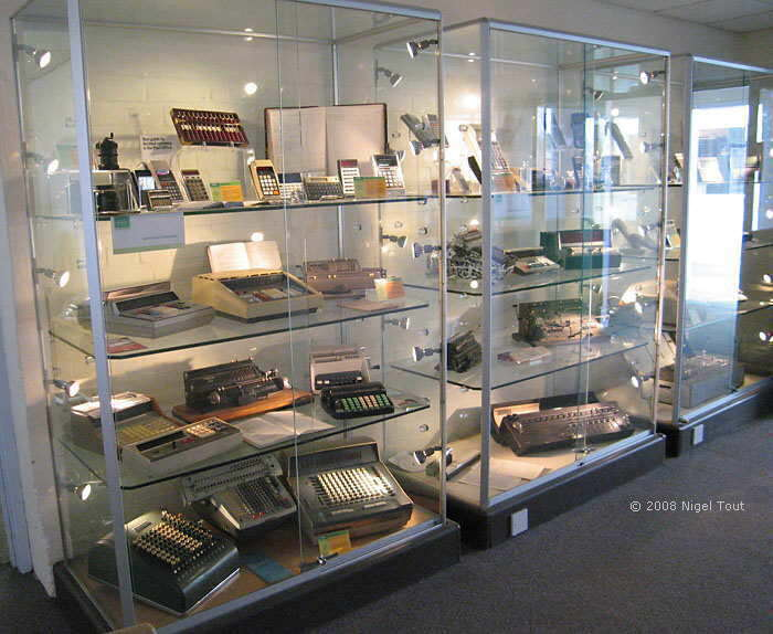 Computer museum calculators