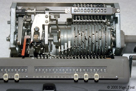 Inside Nippon Calculator HL-21