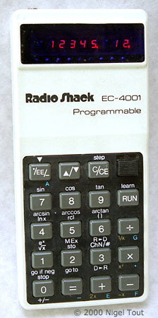 Radio Shack EC-4001