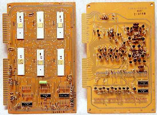 Circuit boards.
