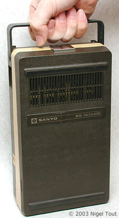 Sanyo ICC-0081 cover on.