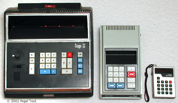 Sharp Compet 22, Sharp QT-8D, Sharp EL-801