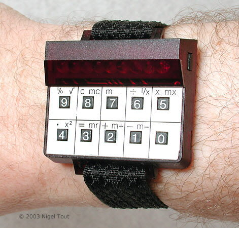 Sinclair Wrist calculator