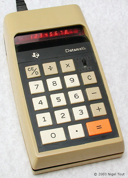 Texas Instruments 2500 �Datamath�, 1st version