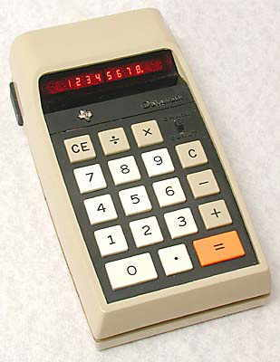 TI 2500 �Datamath�, 2nd. version.
