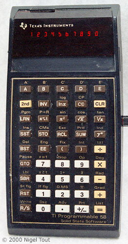 Texas Instruments TI-58