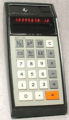 The Pocket Calculator Race
