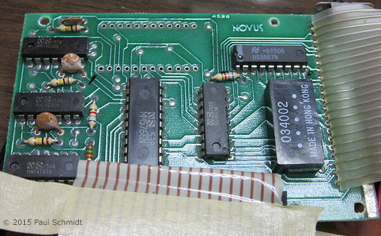 replacing MM5758N main calculator IC