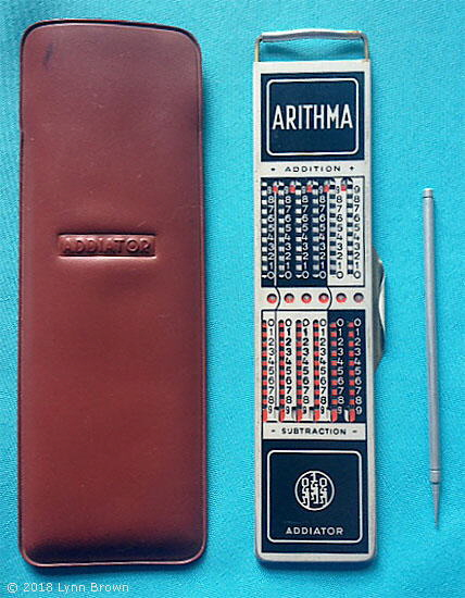 Addiator Arithma calculator
