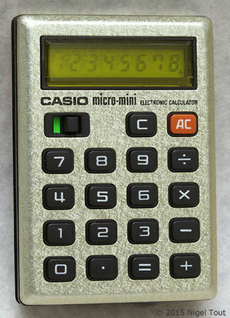 Casio micro-mini M800