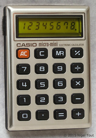 Casio micro-mini M810