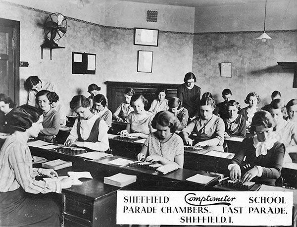 Comptometer School Sheffield