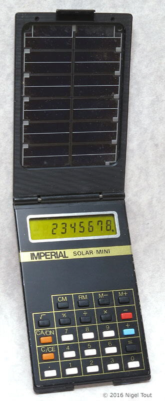 Imperial Solar Min calculator, open