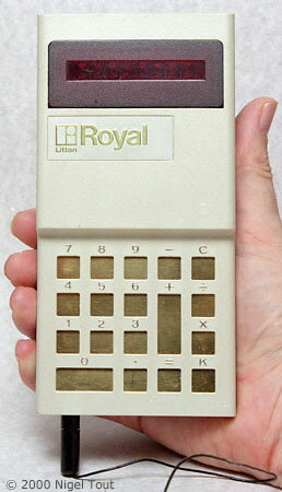 Royal Digital IV in hand