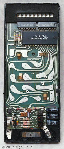 Sinclair Executive showing circuit board